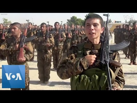 Kurdish Fighters Graduate to Join Syrian Democratic Forces