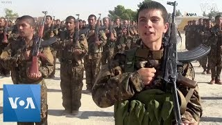 kurdish-fighters-graduate-join-syrian-democratic-forces