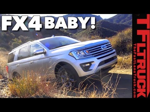 Big Bad Bruiser! 2018 Ford Expedition Off-Road Review