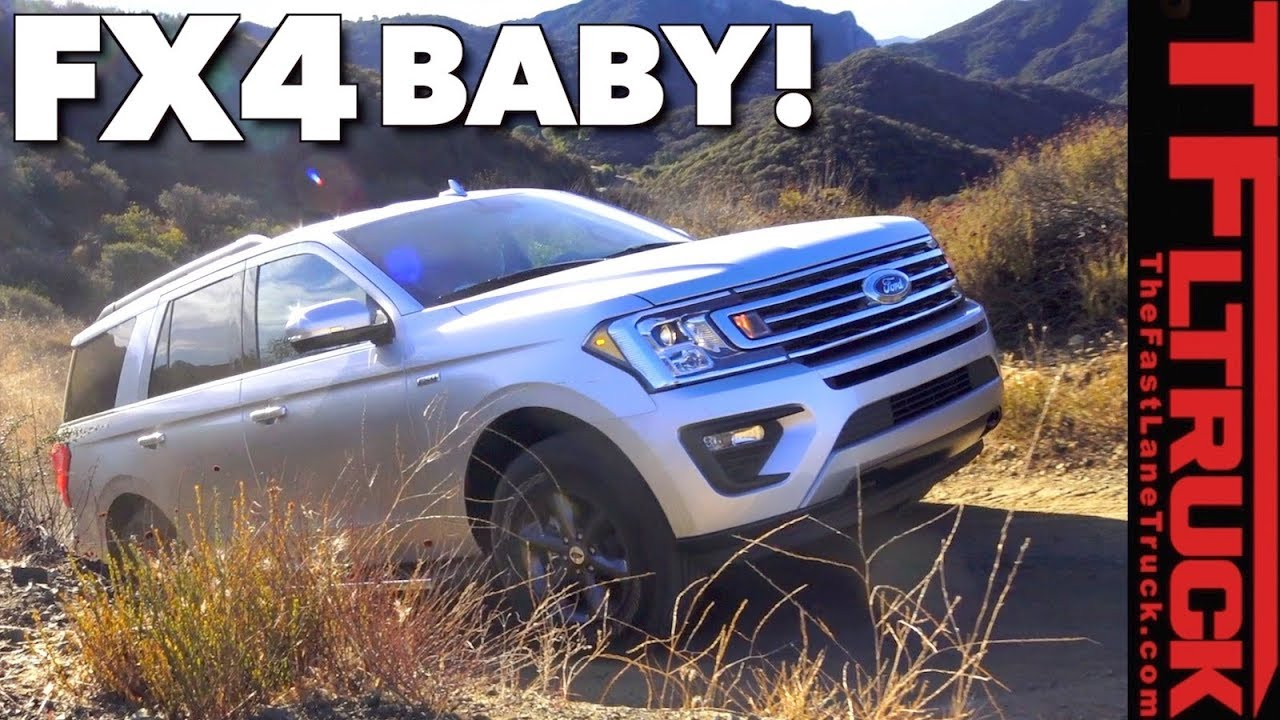 Big Bad Bruiser 2018 Ford Expedition Off Road Review Youtube