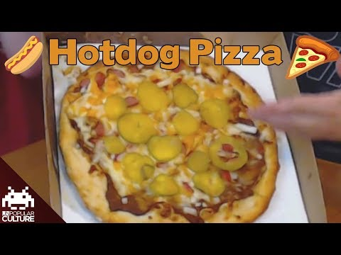 We Eat a Hotdog Pizza