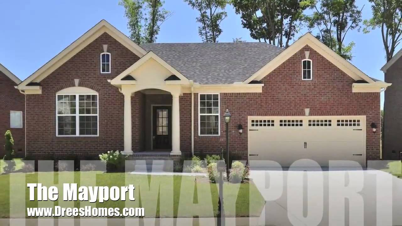 the mayport by drees homes nashville tn real estate youtube