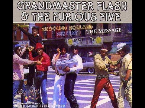 Grandmaster Flash - The Message (digital 12 inch remix) HQsound