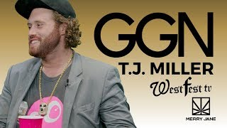 T.j. miller and gorburger hijack the ggn set | ggn news