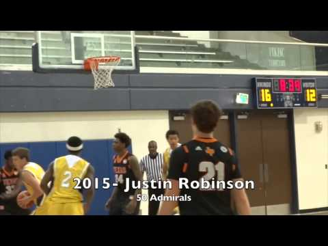 2015 Justin Robinson (Son of David Robinson)
