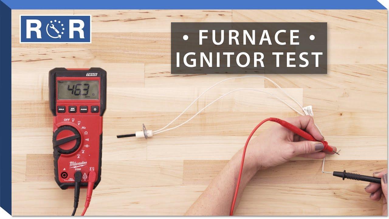 Honeywell # Q3200U1004 - Continuity Test (Gas Furnace Ignitor)