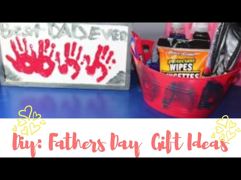 DIY: Fathers Day Gift Ideas!