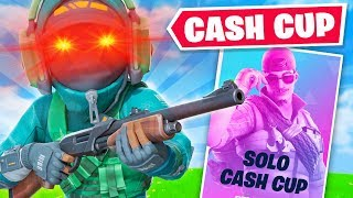 SOLO CASH CUP but in Fortnite Chapter 2...