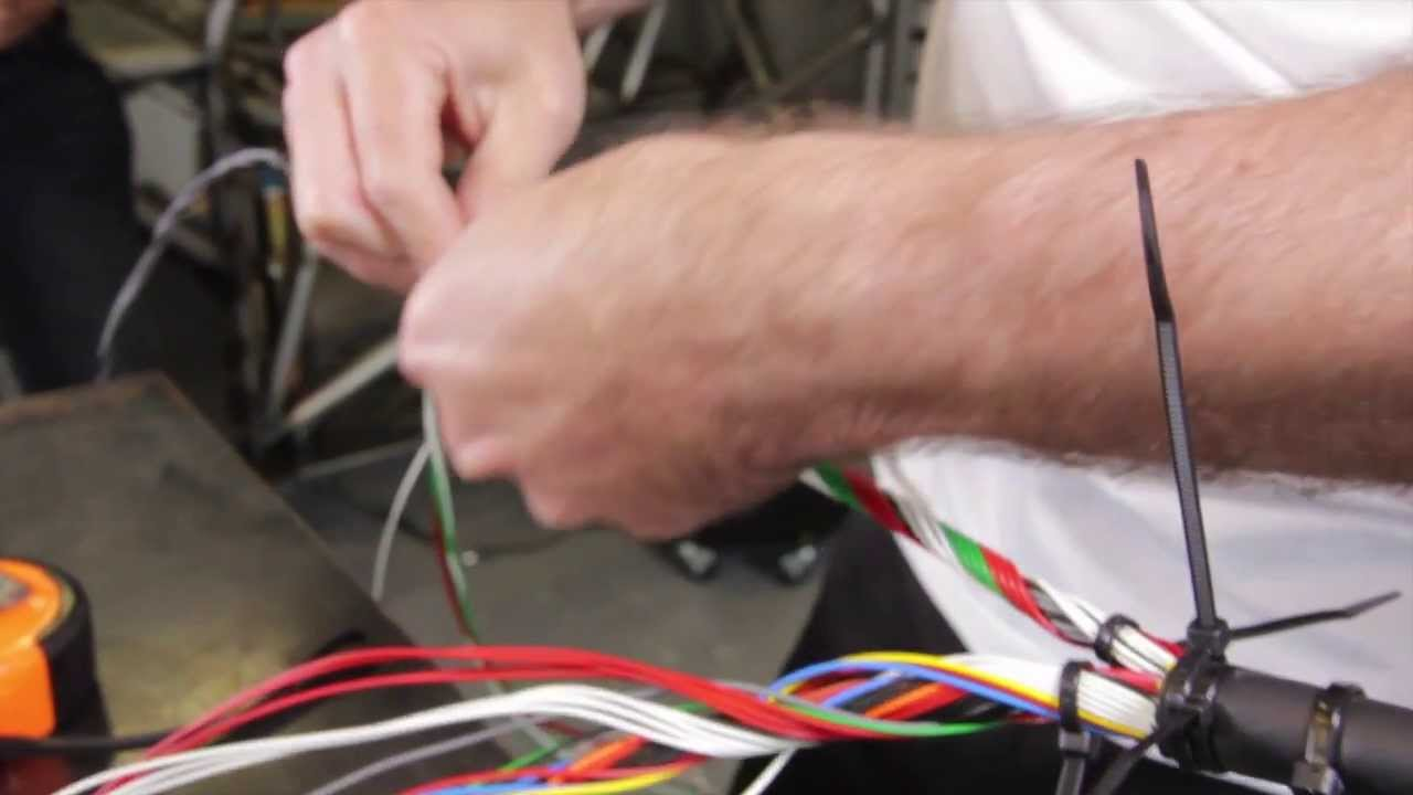 small resolution of  mil spec wiring loom high performance academy youtube