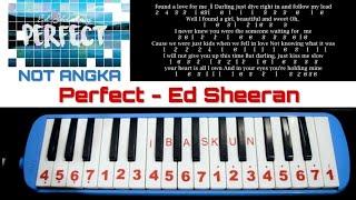 Not Pianika Perfect Ed Sheeran