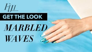 Opi Gelcolor Tutorial | Fiji Collection | Marbled Waves