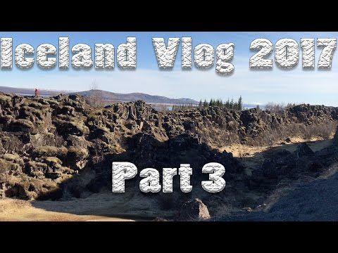 ICELAND VLOG 2017 | GIANT CRACK IN THE GROUND!