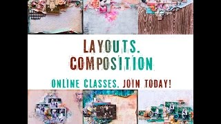 Online Classes in English Layouts Composition by Elena Morgun