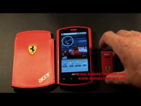 Acer Liquid E Ferrari Special Edition da batista70phone.wmv