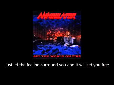Annihilator - Sounds Good To Me (Lyrics)