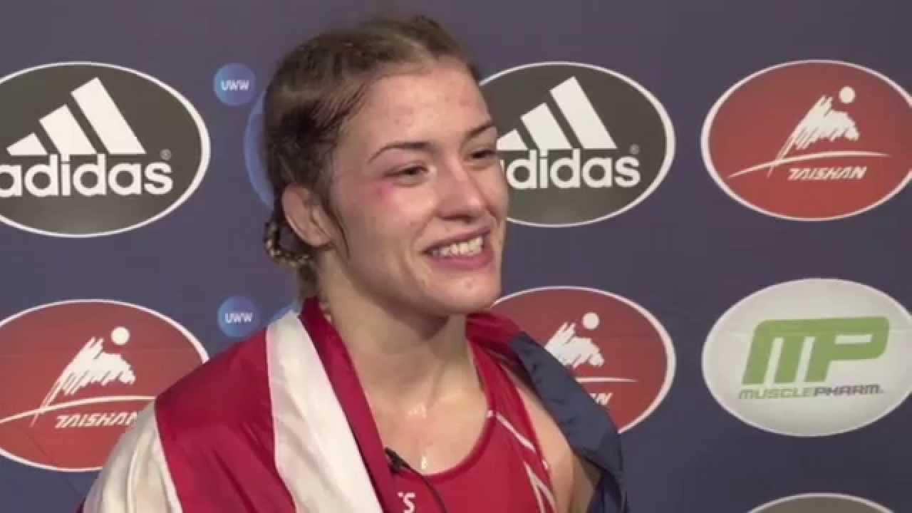 401fc9c1 Helen MAROULIS (USA), 2015 Women's Wrestling World Champion at 55kg -  YouTube