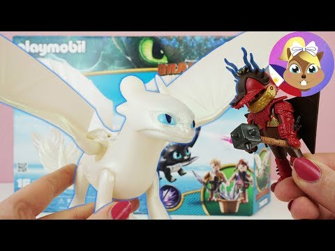 4X Playmobil DRAGONS 3 * BAGO - Cute BABY DRAGONS & CHARACTERS | How to Train Your Dragon 3