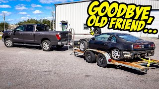 Our Cheap 2JZ-GTE Nissan 300ZX Is LEAVING THE SHOP...(GOODBYE EARL)