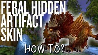 How To Obtain FERAL Hidden Artifact Skin | SCREECHESS!!