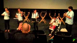 Landfill Harmonic Hollywood Film Festival - Music and the Mind Panel Discussion  - Pachelbel