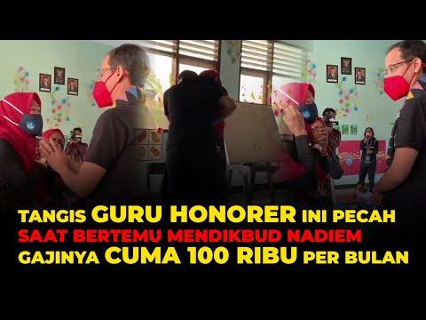 MENGABDI BELASAN TAHUN Guru Honorer Di NTB Digaji 100 Ribu Per Bulan