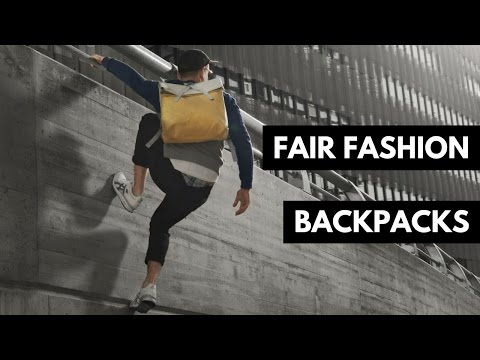 4 Fair Fashion Rucksack/Backpack Marken | Fair Fashion & Lifestyle | rethinknation