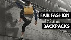 4 Fair Fashion Rucksack/Backpack Marken | Fair Fashion & Lifestyle | rethinknation