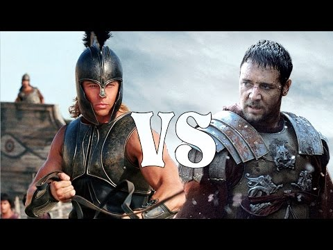 Maximus of Rome VS Achilles  Gladiator VS Troy Movie