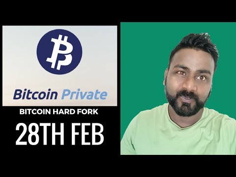 GET READY FOR ANOTHER BITCOIN HARDFORK /BITCOIN PRIVATE a BITCOIN HARD FORK COMING SOON