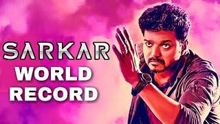 #Sarkar Sets New WORLD RECORD   Thalapathy Vijay   AR Rahman   AR Murugadoss   Keerthy Suresh