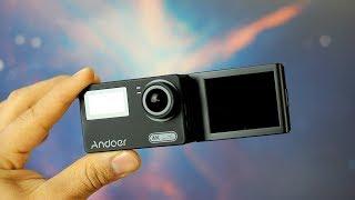 camara Andoer AN300 4k con pantalla abatible para Vblog con  alta Resolución | Tecnocat
