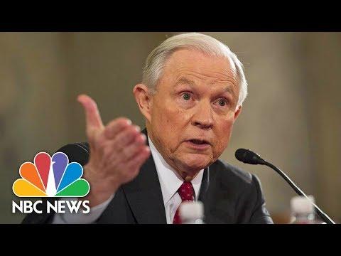 Attorney General Jeff Sessions Testifies Before Senate Intelligence Committee (Full) | NBC News