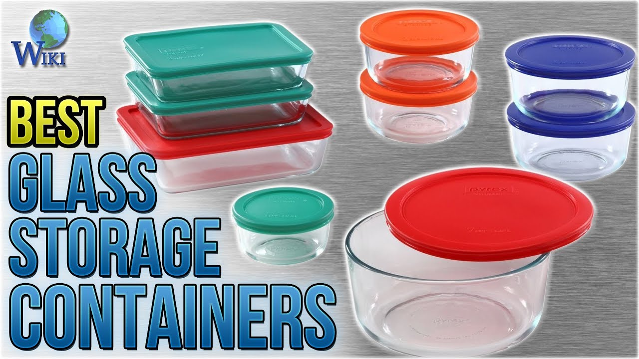 10 Best Glass Storage Containers 2018  sc 1 st  YouTube & 10 Best Glass Storage Containers 2018 - YouTube
