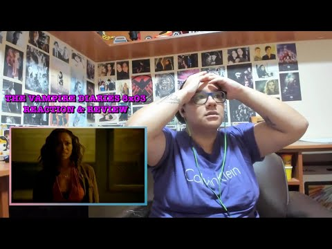"""The Vampire Diaries 8x03 REACTION & REVIEW """"You Decided That I Was Worth Saving"""" S08E03 