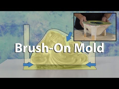 Mold Making Tutorial: How to make a brush on mold with resin mother mold