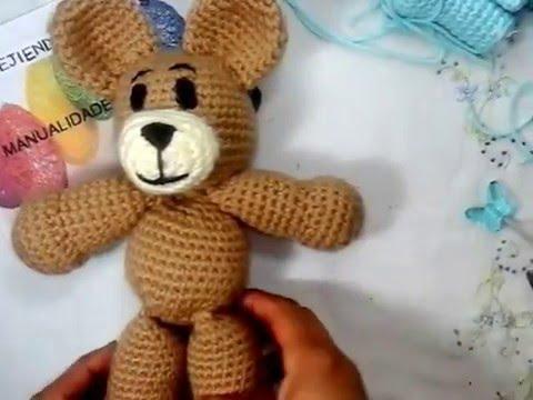 Amigurumi Leon : Amigurumi oso leon paso a paso youtube