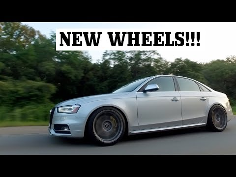 S4 GETS NEW VMR WHEELS!