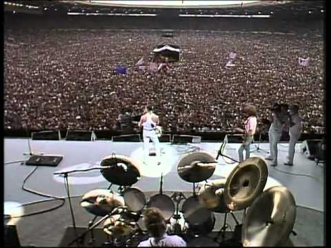 Queen - Live Aid - [ with Lyric ] - [ Legendado PT-BR ]