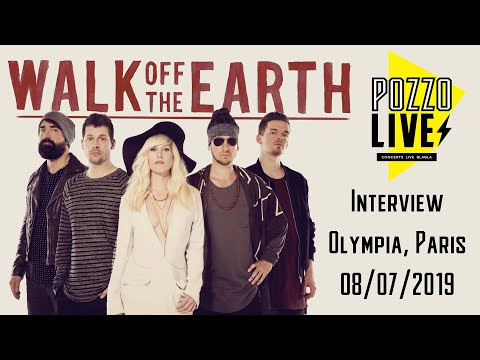 Walk Off The Earth Interview in Paris - French Sub - Joel Cassady