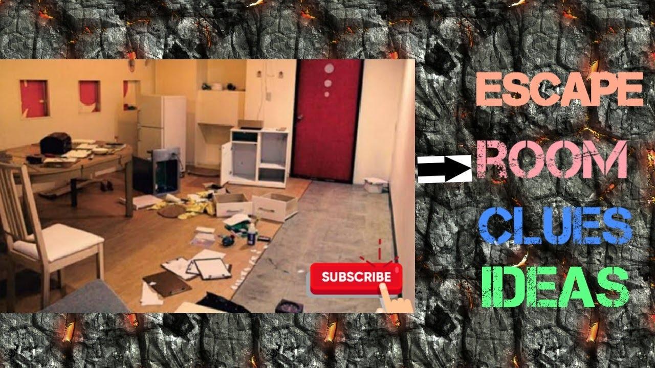 The All New Diy Escape Room Treasure Hunt Clues Ideas Moderator Escaperoom Diy Youtube