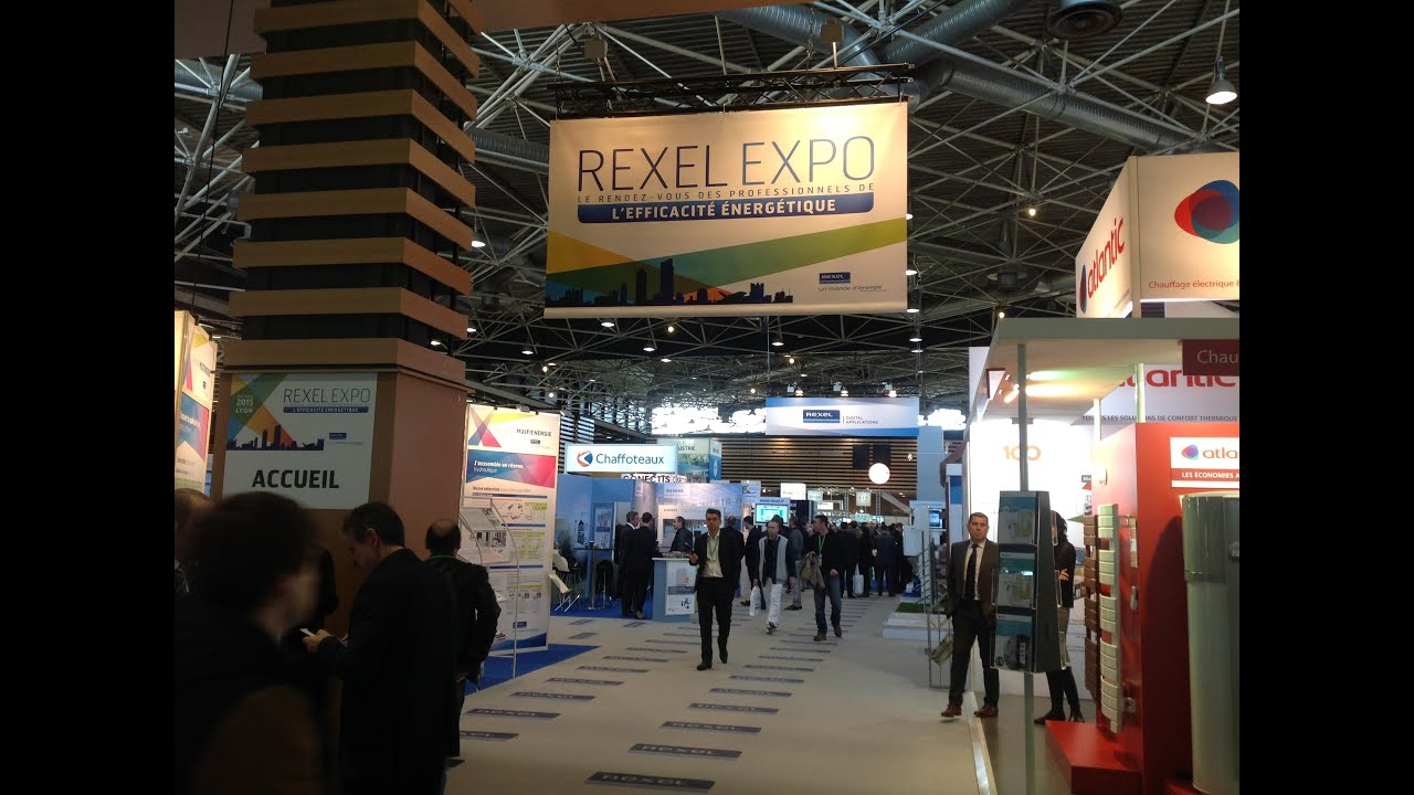salon rexel expo lyon 2015 youtube