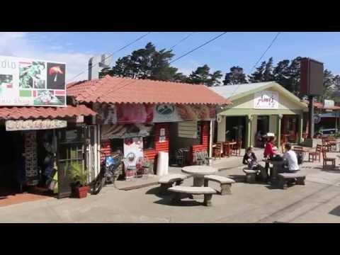 Walking around town of Monteverde (Santa Elena), Costa Rica