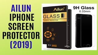 REVIEW Ailun Tempered Glass Screen Protector for iPhone The Best Seller on AMAZON 2019