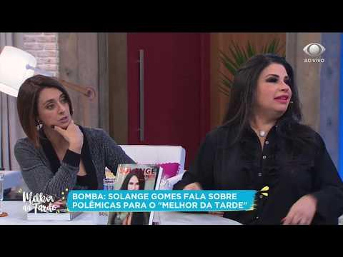 Solange Gomes revela que foi esnobada por Mara Maravilha