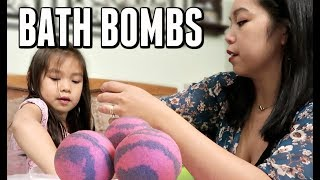 Home Made Bath bombs FAIL -  ItsJudysLife Vlogs