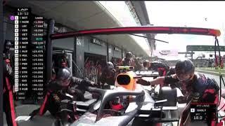 """Установлен новый мировой рекорд по скорости смены колёс на """"Формуле-1"""""""