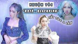 Vlog# 57: THỬ NHUỘM TÓC XANH GIỐNG ROSE- BLACKPINK HOW YOU LIKE THAT [Cuộc sống ở Mỹ của Gà Tây Tây]