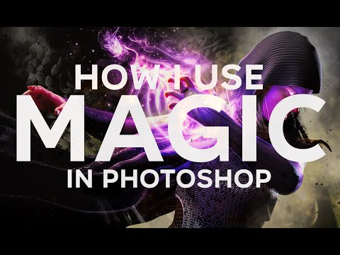 How I Create Magical Effects Using Photoshop