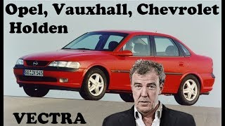Jeremy Clarkson is driving Vauxhall (Opel, Holden, Chevrolet) Vectra B in classic old...