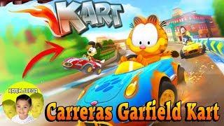 Jugando Garfield Kart   Carreras increibles en este juego
